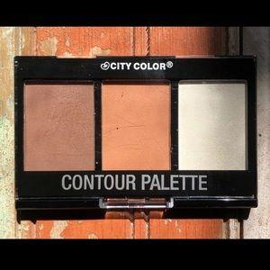 City Color Bronzer, Highlighter & Contour Palette